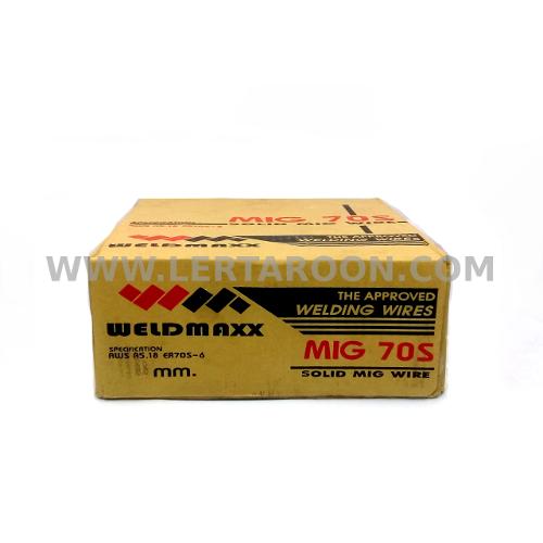ลวดเชื่อม CO2 0.8 มม. WELDMAXX (15กก/ลัง)