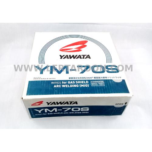 ลวดเชื่อม C02 YAWATA YM-28 ขนาด 0.8 มม. (ลัง 15 กก)