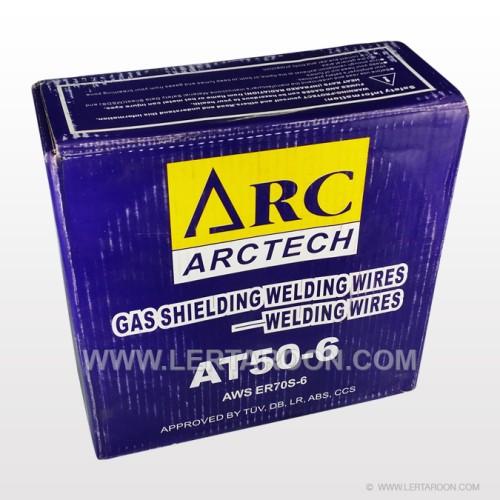 ลวดเชื่อม MIG CO2  ARCTECH 0.8 MM (สีน้ำเงิน 15 KG)