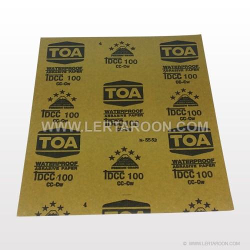 กระดาษทรายน้ำ TOA  100