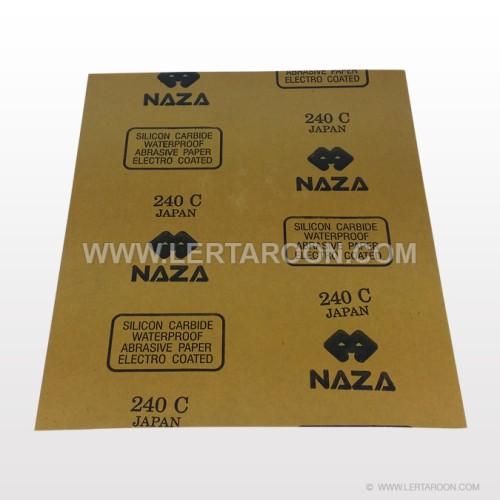 กระดาษทรายน้ำตรา NAZA  180