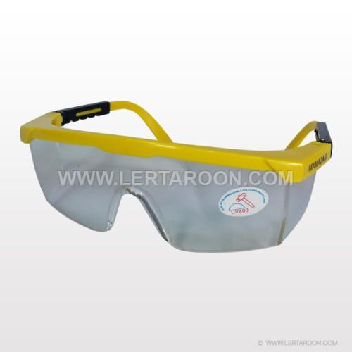 แว่นตากันสะเก็ดกระจกใส TWIN (คละสี)