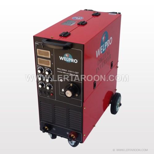 เครื่องเชื่อม WELPRO MIG 250F3 380V IGBT