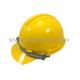 หมวกนิรภัย S-GUARD 10-S-1P  รองในแบบปรับเลื่อนสีเหลือง