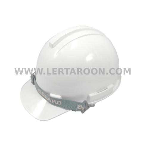 หมวกนิรภัย S-GUARD 10-S-1P รองในแบบปรับเลื่อนสีขาว